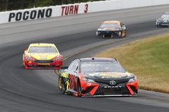 NASCAR :400 6月03日Pocono 免版税库存图片