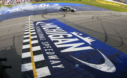 NASCAR :6月15日Quicken贷款400 免版税库存图片