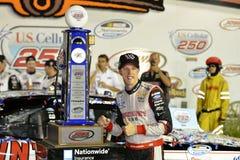 NASCAR :8月02日U S 多孔250 免版税库存图片