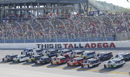 NASCAR :300 5月02日Winn迪克西 免版税库存照片