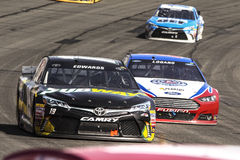 NASCAR :3月22日汽车俱乐部400 免版税库存图片