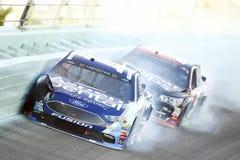 NASCAR :EcoBoost 11月19日福特400 免版税库存图片