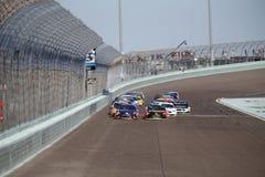 NASCAR :EcoBoost 11月19日福特400 图库摄影