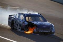 NASCAR :EcoBoost 11月19日福特400 免版税库存照片