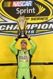 NASCAR :EcoBoost 11月23日福特400 免版税库存照片