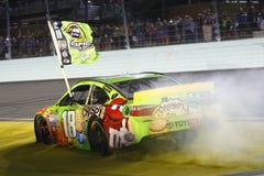 NASCAR :EcoBoost 11月23日福特400 库存照片