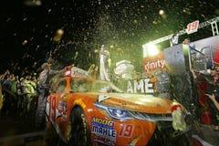 NASCAR :EcoBoost 11月19日福特300 免版税图库摄影