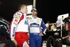 NASCAR :EcoBoost 11月18日福特400 免版税库存照片