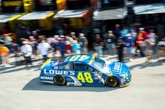 NASCAR :EcoBoost 11月19日福特400 免版税图库摄影