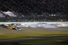 NASCAR :EcoBoost 11月20日福特400 免版税库存图片