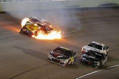 NASCAR :EcoBoost 11月20日福特400 库存图片