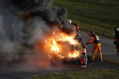 NASCAR :EcoBoost 11月20日福特400 免版税库存照片