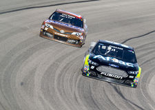 NASCAR 2013年:Sprint杯系列AAA得克萨斯11月500 03日 免版税库存照片