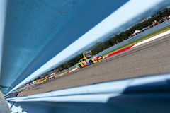 NASCAR 2013年:Sprint杯系列Cheez它355在幽谷8月 库存图片