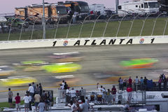 NASCAR: 04 sep Grote Klemmen 300 Royalty-vrije Stock Foto's