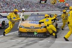 NASCAR: 06 sep Advocare 500 Royalty-vrije Stock Foto