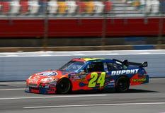 NASCAR 08 - #24 Gordon bei Lowes Lizenzfreies Stockfoto