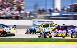 NASCAR 09 - Catturilo se potete! Fotografia Stock Libera da Diritti