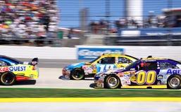NASCAR 09 - Fangen Sie mich ab, wenn Sie können! Lizenzfreies Stockfoto
