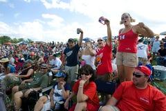 NASCAR : 10 août Heluva bon ! à la gorge de gorge Images libres de droits
