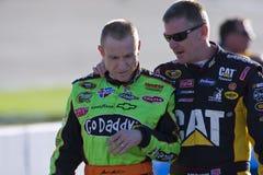 NASCAR: 10. September-Luft-Abdeckung 400 Lizenzfreie Stockfotos