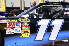 NASCAR - #11 de Denny Hamlin nos 600 Imagens de Stock Royalty Free