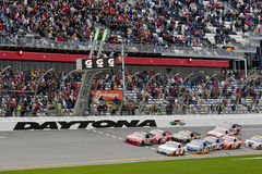 NASCAR: 11 februari Gatorade Duel 2 Stock Fotografie