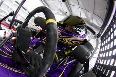 NASCAR : 13 août Carfax 400 Image stock