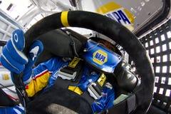 NASCAR : 13 août Carfax 400 Images stock