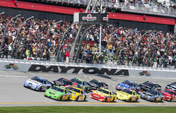 NASCAR: 13 februari Drive4COPD 300 Royalty-vrije Stock Foto's