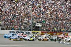 NASCAR: 13 giugno Heluva buon! Tuffi 400 della crema acida fotografie stock