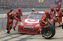 NASCAR: 13 juni Goed Heluva! De zure room dompelt 400 onder Royalty-vrije Stock Foto