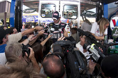 NASCAR: 14 augustus Carfax 400 Stock Fotografie