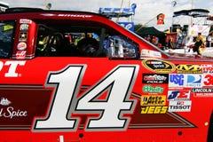 NASCAR - #14 Chevrolet dello Stewart Fotografie Stock Libere da Diritti