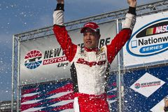 NASCAR: 14 de julio Brad Kaselowski Fotos de archivo