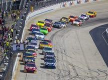 NASCAR: 15 die mei Fedex 400 aan Autisme ten goede komt spreekt Royalty-vrije Stock Afbeeldingen