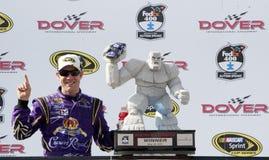NASCAR: 15 die mei Fedex 400 aan Autisme ten goede komt spreekt Stock Fotografie