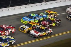 NASCAR: 18 februari Budweiser Shootout Stock Foto