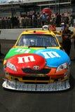 NASCAR - #18 Kyle Busch M&Ms Royalty-vrije Stock Foto