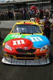 NASCAR - #18 Kyle Busch M&Ms Royalty Free Stock Photo
