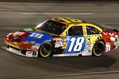 NASCAR - #18 Kyle Busch in Richmond Royalty-vrije Stock Afbeeldingen