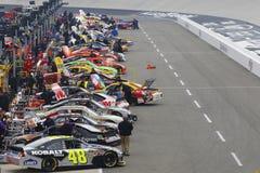 NASCAR: 18. März Jeff Byrd 500 Stockbilder