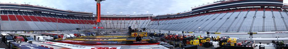NASCAR : 18 mars Jeff Byrd 500 Images stock
