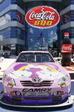 NASCAR - #18 Toyota alla coca-cola 600 Immagini Stock Libere da Diritti