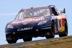NASCAR: 19 de junio Toyota/excepto el centro comercial 350 Fotos de archivo libres de regalías