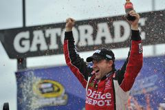 NASCAR: 19 de septiembre Geico 400 Imagen de archivo
