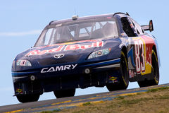 NASCAR: 19 juni Toyota/sparen Markt 350 Royalty-vrije Stock Foto's