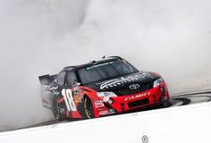NASCAR: 19 marzo Kyle Busch (18) Fotografia Stock