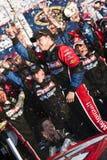 NASCAR: 20 de febrero Trevor Bayne Imágenes de archivo libres de regalías