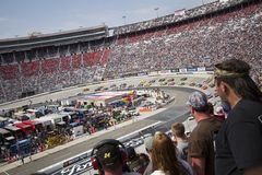 NASCAR: 20 de marzo Jeff Byrd 500 Fotografía de archivo libre de regalías